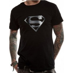 T-shirt SUPERMAN - SILVER FOIL LOGO