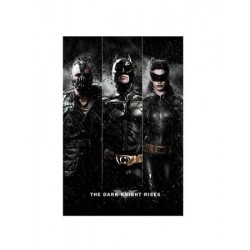 Affiche BATMAN the dark knight rises