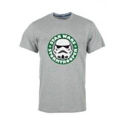 T-shirt STAR WARS logo vert