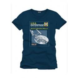 T-shirt STAR TREK - USS Enterprise