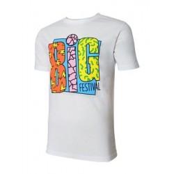 T-shirt BIG festival 6ème édition blanc