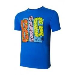 T-shirt BIG festival 6ème édition bleu