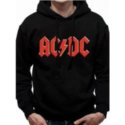 Sweat capuche ACDC  Red Logo
