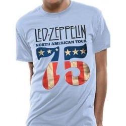 T-shirt LED ZEPPELIN - US 75
