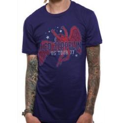 T-shirt Led Zeppelin Icarus 77 Tour