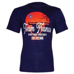T-shirt Vintage Hockey France CCM