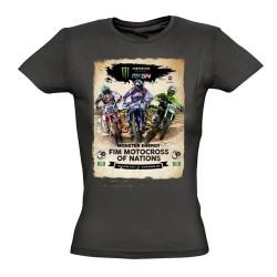 T-shirt femme affiche MXoN 2016