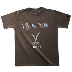 Départ Jr t-shirt Marron