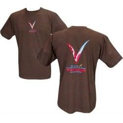 T-shirt Liseran marron