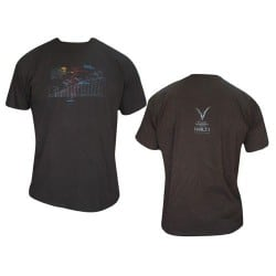 T-shirt Noir Homme Portait de Balzac