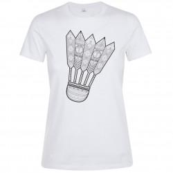 T-shirt Blanc Homme Portait de Tchaikovsky