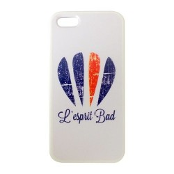 Coque Iphone 5 logo badminton