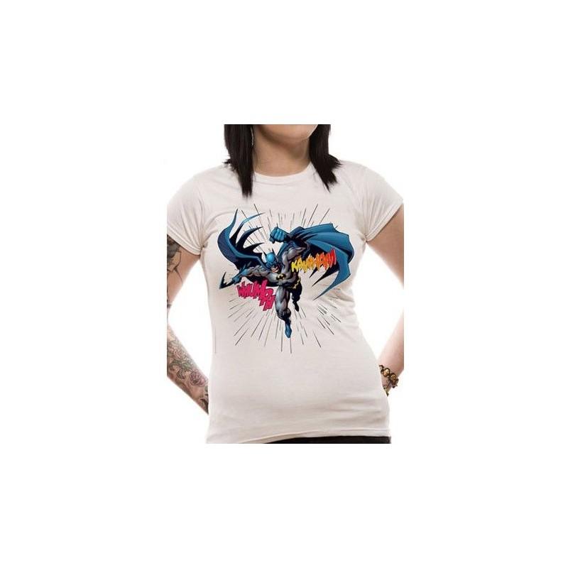 T-shirt femme Batman LEAPING