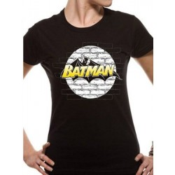 T-shirt femme Batman WALL LOGO