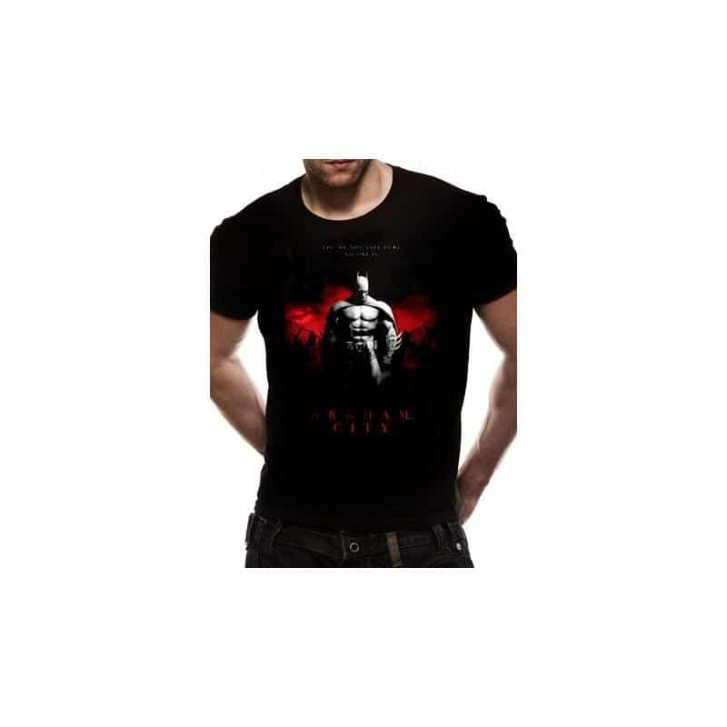 T-shirt BATMAN ARKHAM CITY