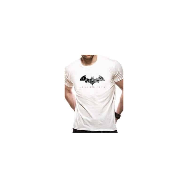 T-shirt BATMAN ARKHAM CITY LOGO