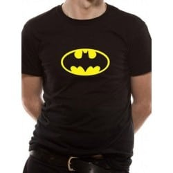 T-shirt BATMAN Distressed Shield