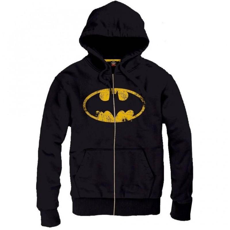 Sweat Batman - Cracked logo