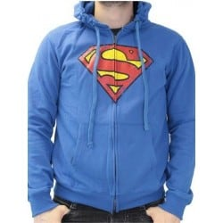 Sweat zippé SUPERMAN - Logo