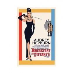 Affiche film Audrey Hepburn - Breakfast at Tiffanys