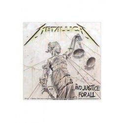 Stickers metallica - And justice of all