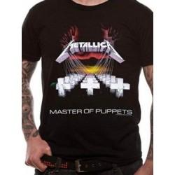 T-shirt Metallica Master of puppets