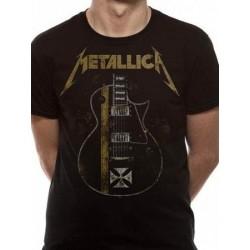 T-shirt Metallica HetFiled Iron Cross