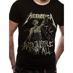 T-shirt Metallica Vintage Justice