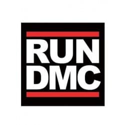 Stickers Run DMC  logo