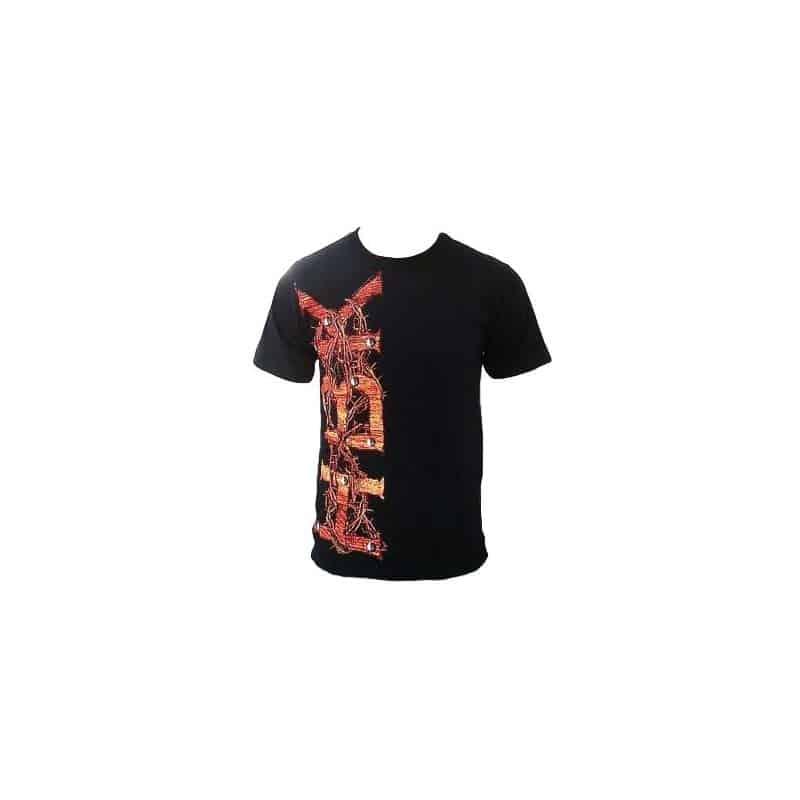 T-shirt noir homme ACDC Logo