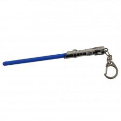 Porte Clé Sabre Laser Bleu et métal