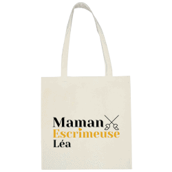 Sac shopping personnalisable Maman - Sabre
