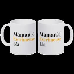 Mug personnalisable Maman - Epée