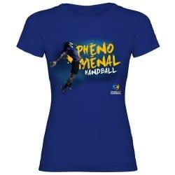 T-shirt femme affiche Handball 2017