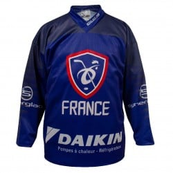 Maillot Hockey France officiel 2019 PRO Bleu