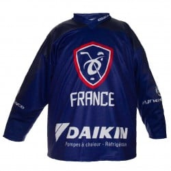 Maillot Hockey France officiel 2019 Standard Bleu