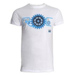 T-shirt rouage Roc D'Azur blanc