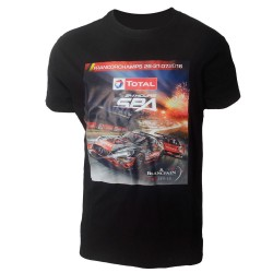 T-shirt affiche 24 Heures de Spa