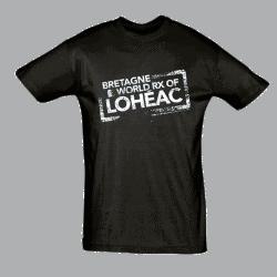 T-shirt Homme Logo Rallycross Loheac 2016