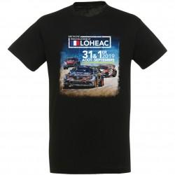 T-shirt affiche Rallycross Lohéac 2019