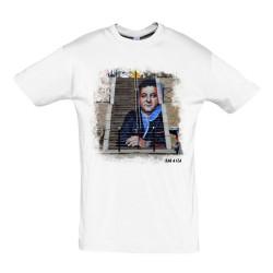 T-shirt street Coluche