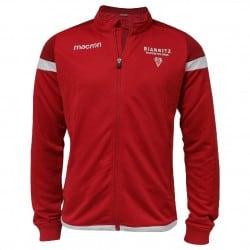 Shirt Full Zip Travel Rge Junior Biarritz Olympique