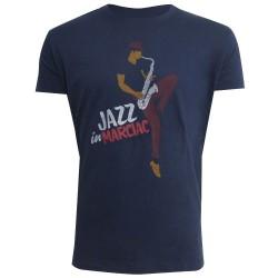 t-shirt saxo Jazz in Marciac