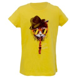 T-shirt chat lunettes Jazz in Marciac