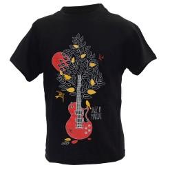 T-shirt enfant arbre guitare Jazz in Marciac