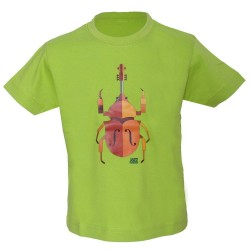 T-shirt enfant scarabée Jazz in Marciac
