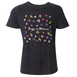 T-shirt graphic charcoal Jazz in Marciac