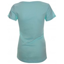 T-shirt chat tête turquoise - Jazz In Marciac