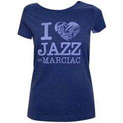 T-shirt I love Jazz - Jazz In Marciac