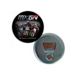 Badge décapsuleur motocross affiche MXoN 2015 - Ernée